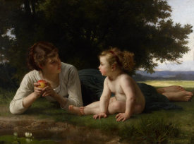 William-Adolphe Bouguereau - Mother and Child (II)