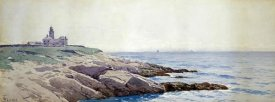 Alfred Thompson Bricher - Coastal Landscape with Lighthouse
