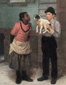 John George Brown - The New Puppy