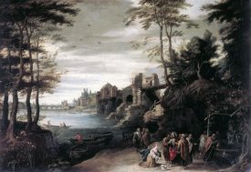 Jan Brueghel the Elder - Christ and the Canaanite Woman