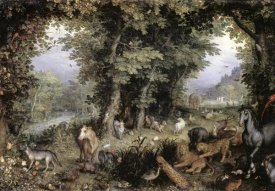 Jan Brueghel the Elder - Land of Paradise