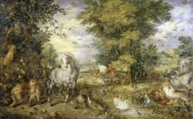 Jan Brueghel the Elder - The Animals Approaching the Ark