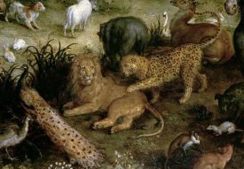 Jan Brueghel the Elder - The Land of Paradise (Detail)