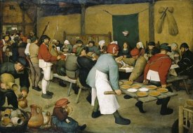 Pieter Bruegel the Elder - The Peasants' Wedding