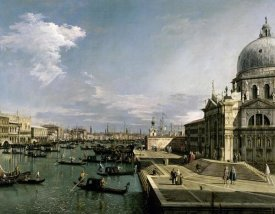 Canaletto - Venice, Church of the Blessed Sacrament