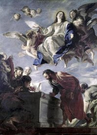 Mateo Cerezo - The Ascension of The Virgin