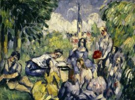 Paul Cezanne - Lunch on the Grass