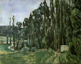 Paul Cezanne - The Poplar Trees