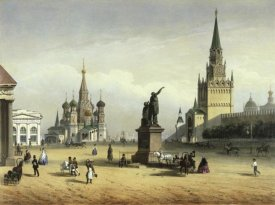 Joseph Charlemange - View Of Red Square (from Moscow And The Suburbs)