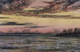 Frederic E. Church - Sunset Over the Ice