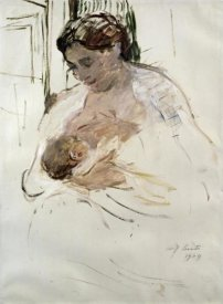 Lovis Corinth - Charlotte with Wilhelmine