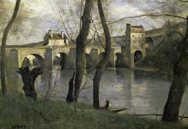 Jean-Baptiste-Camille Corot - The Bridge of Nantes