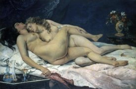 Gustave Courbet - Sleep