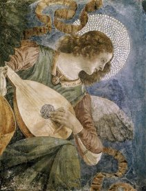 Melozzo Da Forli - Music Making Angel with Lute