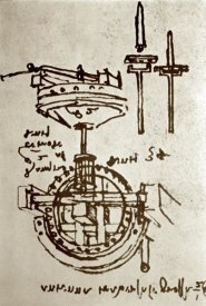 Leonardo Da Vinci - Mechanical Drawings No. 3