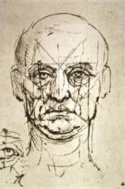 Leonardo Da Vinci - Proportions of the Face