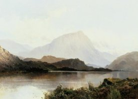 Alfred de Breanski - The Hills of Loch Lomond