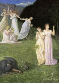 Pierre Puvis de Chavannes - The Reaper