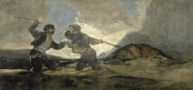 Francisco De Goya - Fight with Cudgels