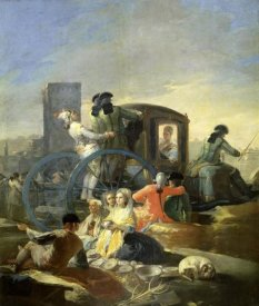 Francisco De Goya - The Pottery Vendor