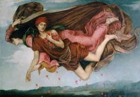 Evelyn de Morgan - Night and Sleep (Detail)