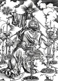 Albrecht Durer - Vision of the Seven Candlesticks