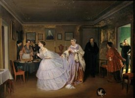 Pavel Andreevic Fedotov - The Major Makes a Proposal