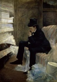 Jean-Louis Forain - The Widower
