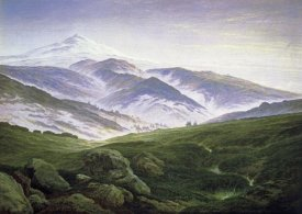 Caspar David Friedrich - Riesengebirge