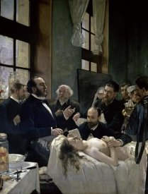 Henri Gervex - Doctor Preau Operating at the St. Louis Hospital