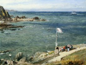 Albert Goodwin - The Bristol Channel from Ilfracombe
