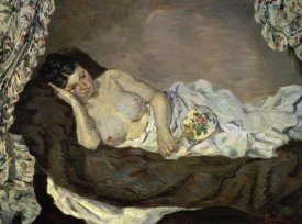 Armand Guillaumin - Reclining Nude