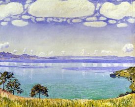 Ferdinand Hodler - Leman Lake seen from Chexbre
