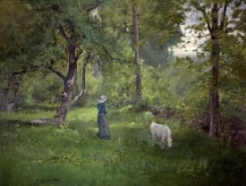 George Inness - Taking a Walk