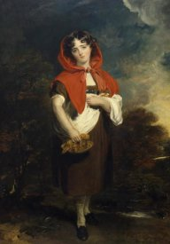 Sir Thomas Lawrence - Emily Anderson: Little Red Riding Hood