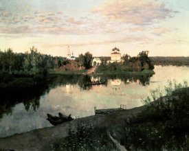 Isaak Levitan - Evening Bells