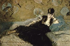 Edouard Manet - La Dame aux Eventails; Nina de Callias, 1873-74