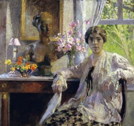 Gari Melchers - Nellie Kabel