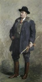 Gari Melchers - Theodore Roosevelt, 26th President of the United States