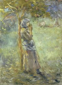 Berthe Morisot - Under the Apple Tree