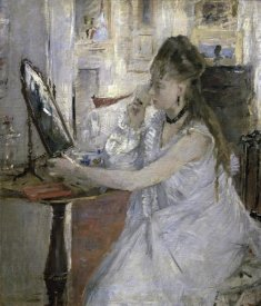 Berthe Morisot - Young Woman Powdering Herself