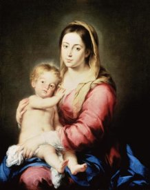 Bartolome Esteban Murillo - The Virgin and Child