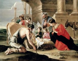 Louis Le Nain - Adoration of the Shepherds
