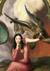 Andre Jacques Victor Orsel - Good and Evil (Detail)