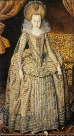 Robert Peake - Portrait of Queen Elizabeth of Bohemia