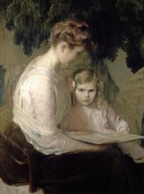 Lilla Cabot Perry - Mother and Child Reading