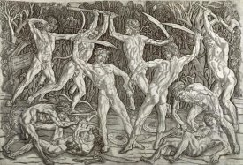 Antonio del Pollaiolo - Battle of Ten Naked Men