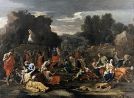 Nicolas Poussin - Manna from Heaven