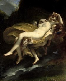 Pierre-Paul Prudhon - The Carrying Away of Psyche