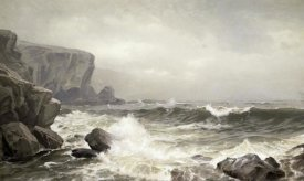 William Trost Richards - Crashing Surf